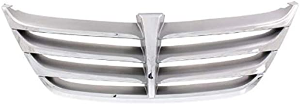Koolzap For 11-14 Genesis Sedan Front Face Bar Grill Grille Assembly Silver/Gray Chrome