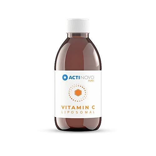 Vitamin C | 25 Tagesdosen à 1000 mg Vitamin C | Vegan | 250 ml | Hochdosiert & laborgeprüft | 24h-Versorgung | Wirksamer als Pulver & Serum | Liposomal | Glutenfrei | Made in Germany