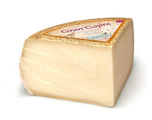"""Formaggio di capra """"Gran Capra"""" Gustos, 2,5 kg, stagionato e senza lattosio, altamente digeribile e con pochi grassi"""