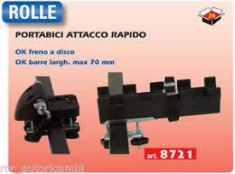 GEV 8721 Rolle Portabici da Tetto