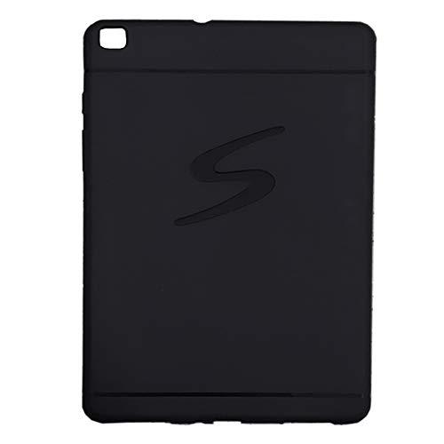 Capa silicone Samsung Galaxy Tab 8.0 2019 T290 T295 cores (Preto)