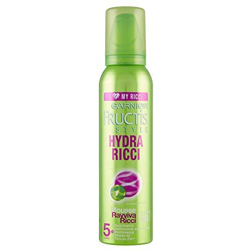 Garnier Fructis Hydra Ricci Mousse Ravviva Ricci Fissaggio Extra Forte, 200 ml
