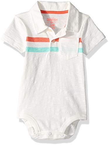 OshKosh B' Gosh - Body - para bebé niño marfil Marfil