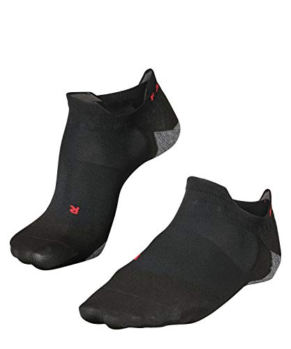 Falke - Ru5 Invisible - Calcetines Tobilleros - Black/Grey