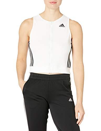 adidas womens Sport Tank White Large