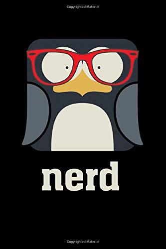 Nerd Penguin With Geek Glasses