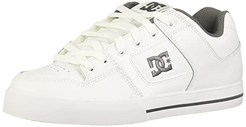 DC Shoes Pure, Zapatillas Deportivas Hombre, Blanco Weiss Hbwd, 52 EU
