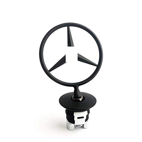 GGJC With Mercedes Benz Star, Mercedes Emblem Bonnet, Mercedes Star Bonnet Suitable for The Mercedes-Benz S-Klass Emblem Logo