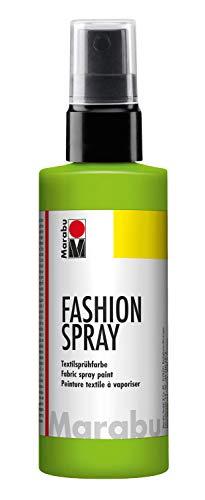 Marabu Reseda - Pintura Textil con pulverizador (100 ml), Color Verde reseda