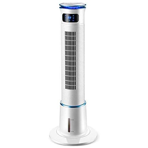 Verdunstungskühler, Haushaltsluftreiniger, Luftbefeuchter, stummer Turmventilator, 15-Stunden-Timer, LED-Bildschirm, 3 Windgeschwindigkeiten, B.