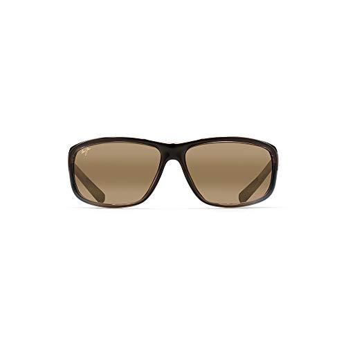 Maui Jim Spartan Reef H278-03F | Polarized Marlin Wrap Frame Sunglasses, Patented PolarizedPlus2 Lens Technology