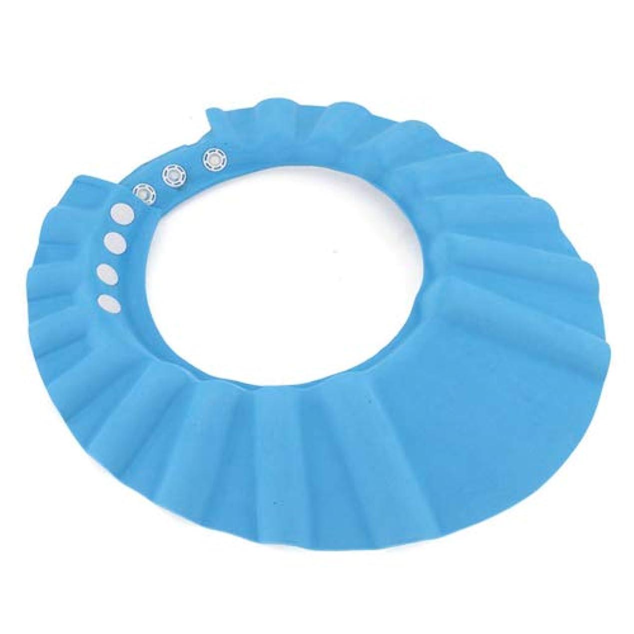 製造クリケットお金シャンプーハット 子供 シャンプーキャップ 洗髪用帽子お風呂 サイズ 調整可能 防水帽