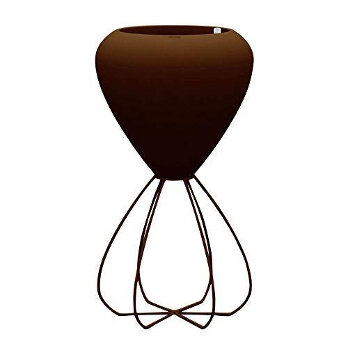 Vondom Spaghetti macetero de exterior bronce