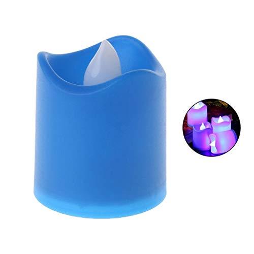 LED elektronische kaarsen vlamloze kaars party LED thee-licht batterij flikkering smokloos vlamloos candle aangedreven
