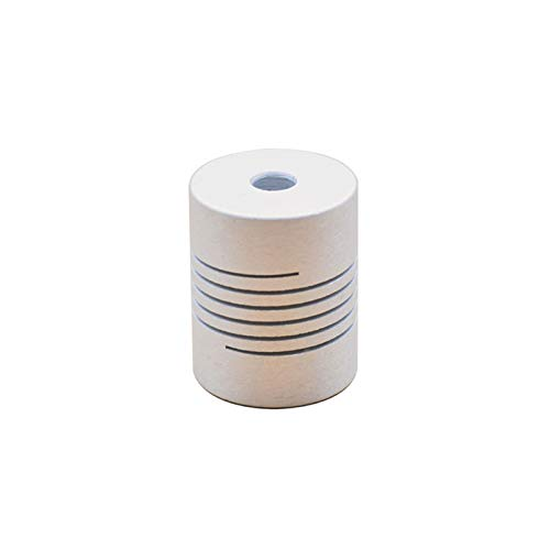 NIANZAI Hongfubang Diameter Coupler 3D Printer Parts Accessory Stepper Motor Aluminum Alloy Z Axis Flexible Coupling Coupler Shaft Couplings 5mm*8mm 5mmx5mm (Inner Diameter : 2mm to 8mm)