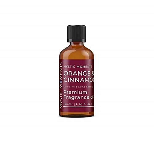 Mystic Moments | Orange & Cinnamon Fragrance Oil 100ml