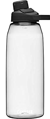 CamelBak Chute Mag BPA Free Water Bottle 50 oz, Clear (1514101015)