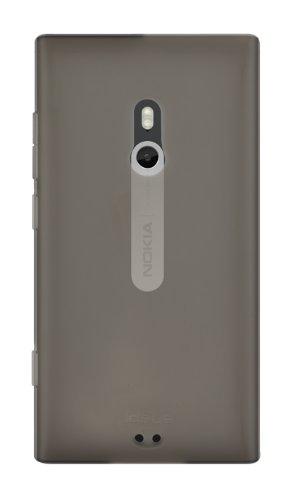 Ideus CO800TPUSKGY - Carcasa de TPU para Nokia Lumia 800, gris ahumado