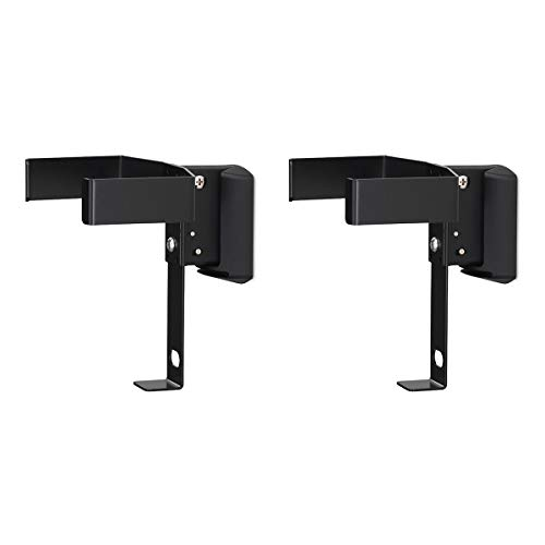 SoundXtra Wall Mounts for Bose SoundTouch 10 - Pair (Black)