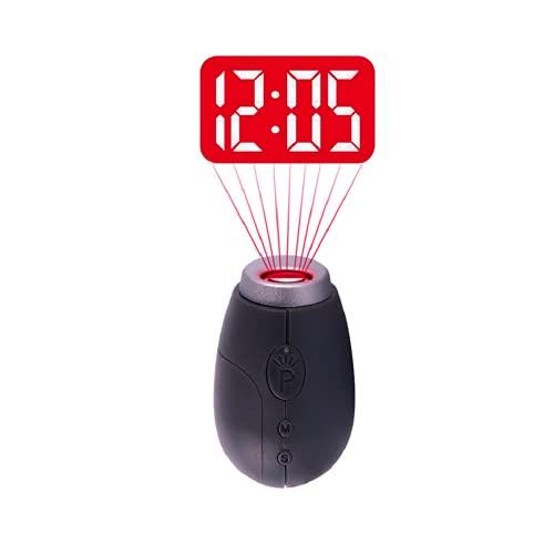 Mini proiettore di tempo del desktop della sveglia di proiezione digitale del LED