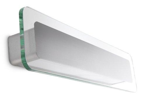 Philips Ecomoods Applique Eclairage de Mur 2 x 12 W 230 V Aluminium