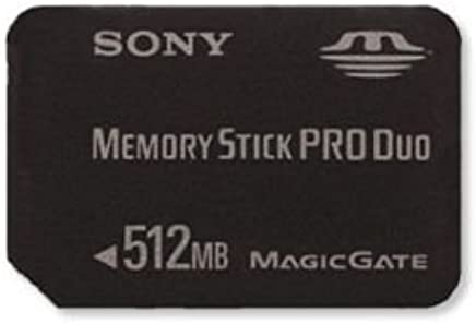 Amazon.com: Sony - Flash memory card - 512 MB - MS PRO DUO ...
