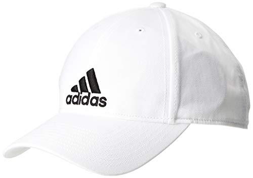 adidas 6 Panel Kappe Unisex, weiß (White/Black), OSFM