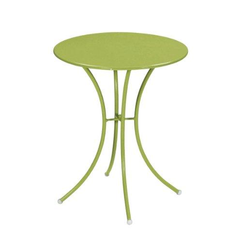 Emu 309056000 Pigalle Tisch 905, ø 60 cm, pulverbeschichteter Stahl, grün