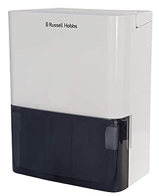 Russell Hobbs RHDH1001 10L Dehumidifier, 340 W, 2 liters, White