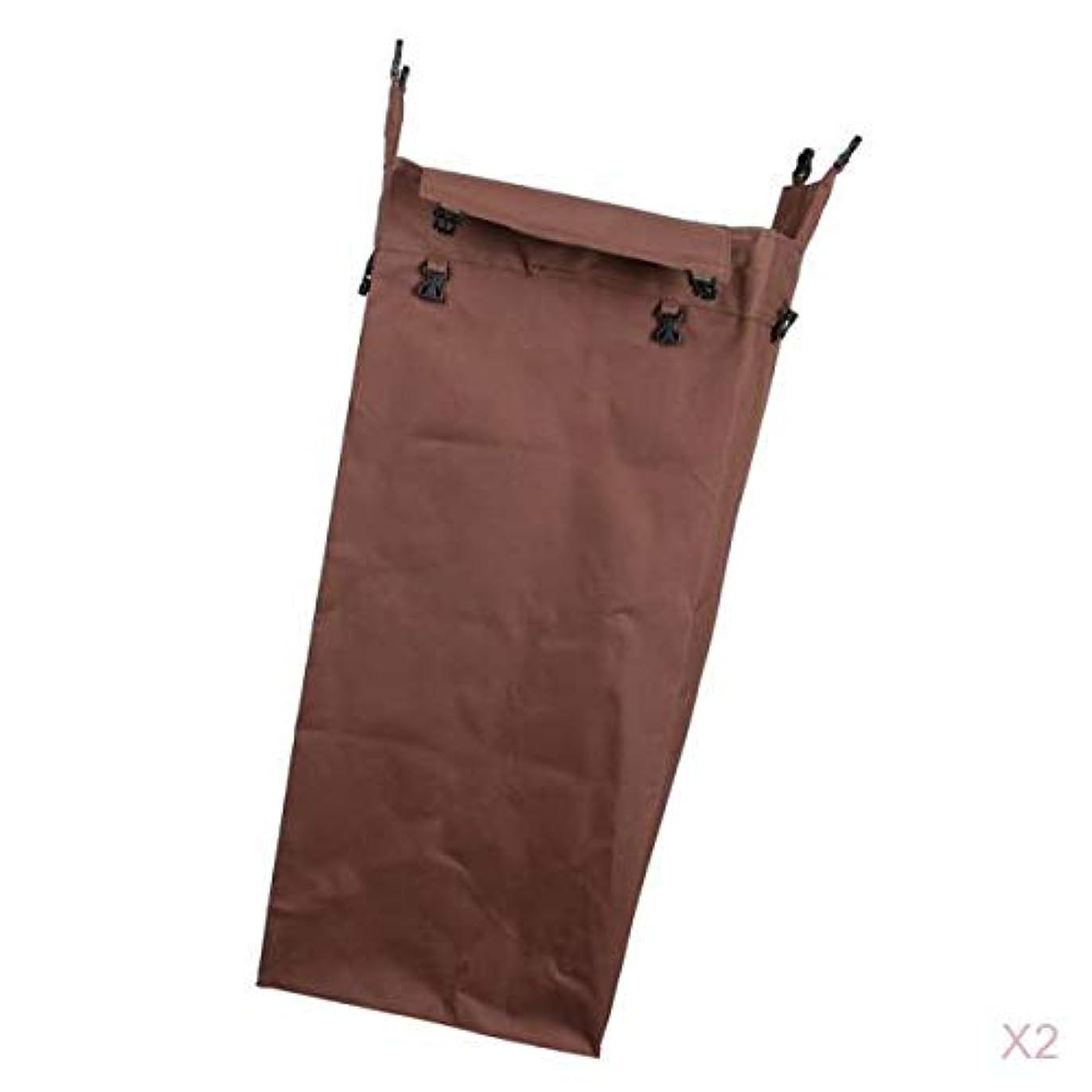 課税キャンバス発揮するKESOTO 交換バッグ 2個 清掃カート用 クリーニングカートバッグ 物資輸送 ゴミ回収