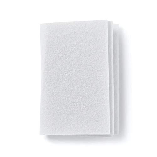 Microfiltro universal, filtro de aire, filtro de motor, microfiltro, estera de filtro. Se puede cortar a medida aprox. 190 x 90 mm de Microsafe®.