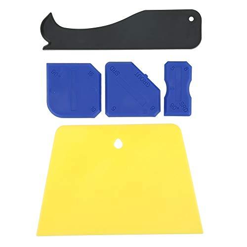 Kit de esparcidor sellador, Silicona y rascador de plástico Removedor de calafateo para moldear juntas de lechada