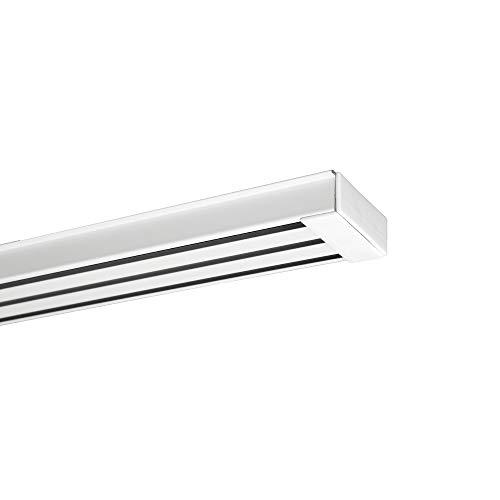 URail Système DEL Panneau Double 8 W Blanc//Chrome 230 V alu//plastique