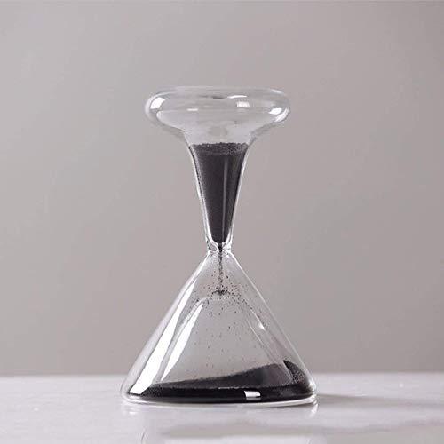 PanyFDD zandloper, mondgeblazen, handgemaakt, timer, magnetisch, glas, handwerk zand, stopwatch, cadeau