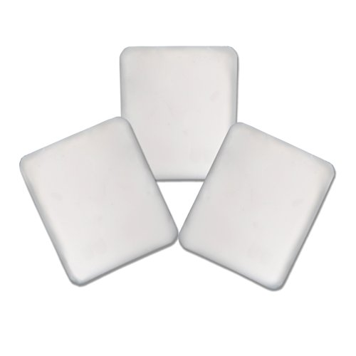Radiant Saunas SA5015 Infrarot-Sauna-Sauerstoff-Ionisator-Duft-Pad-Ersatz, 3er-Pack, Weiß