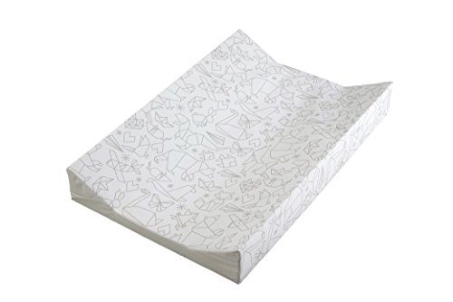 East Coast Nursery Ltd Mini Origami Wedge Changing Mat, White