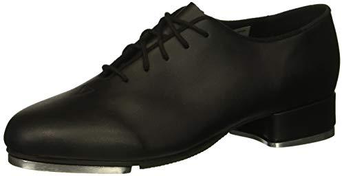 Leo Women's Jazz TAP Dance Shoe, Black, 11 Medium US