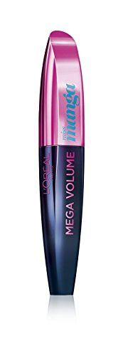 L'Oréal Paris Mega Volume Collagen Mascara Miss Manga, pop turquoise, 1er Pack (1 x 8,5 ml)