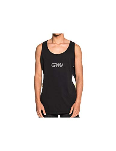 GRIMEY Camiseta Tirantes MANGUSTA V8 SS18 Black-M