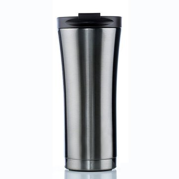 Generic Travel KC-IC03 Car Vacuum Flasks Coffee Thermos Mug Bottle- Black