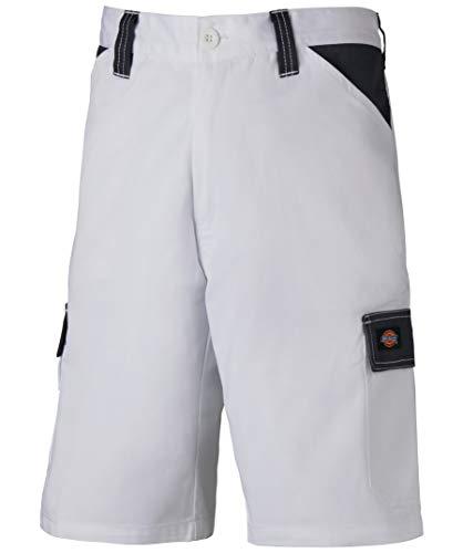 Dickies Arbeitsshorts mit Cargotaschen, Ideal für den Sommer, (Weiß/Grau, 52)