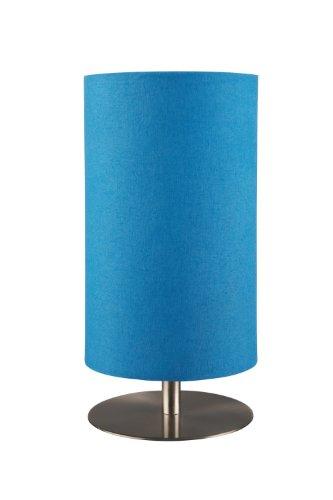 Massive Tischlampe Tischleuchte Pontius 1-Flammigblau