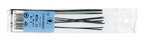 Schiessel 36500601 Lames de scie à chantourner Wera pour métal taille 1 (12 pièces), 1