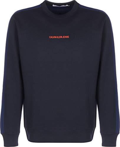 Calvin Klein Jeans Mannen Blokkeren Verklaring Logo Cn Trui