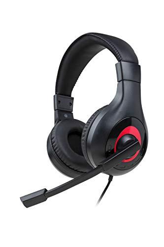 Nacon - Auriculares Gaming Estéreo con cable para Nintendo Switch y Switch Lite- Negro (Nintendo Switch)