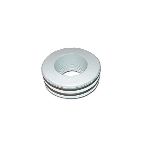 Wasmand van wit rubber voor WC 50 x 26/30 / 32 kruiwagen 50