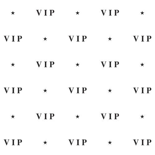 VIP Backdrop Party Accessory (1 count) (1/Pkg)