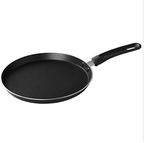 Sartén Revestimiento Antiadherente Pan de panqueque para el hogar Cocina Antiadherente de cocción de jamón Pan para Hornear Pan de Cocina Platos Panqueques Fácil de Limpiar (Color : Default)