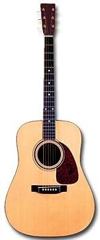 Acoustic Guitar Die Cut Blank Card