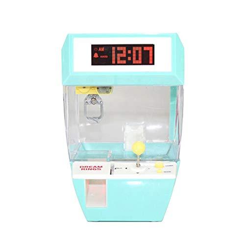 LMJI Máquina de Juego de Monedas máquina de Juego de Dulces para Colgar muñeca Garra máquina de Garra Arcade, Verde